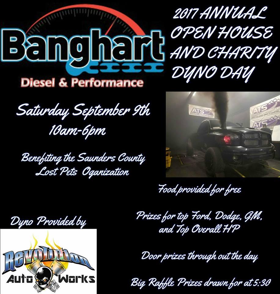 Banghart Diesel Open House September 9